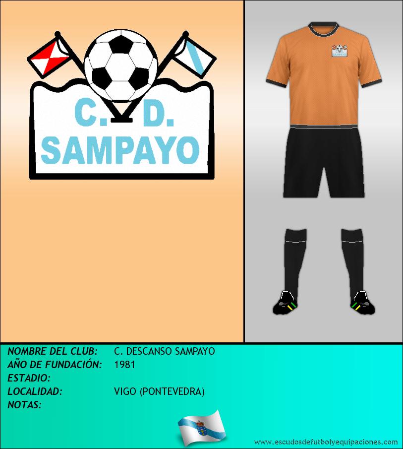 Escudo de C. DESCANSO SAMPAYO