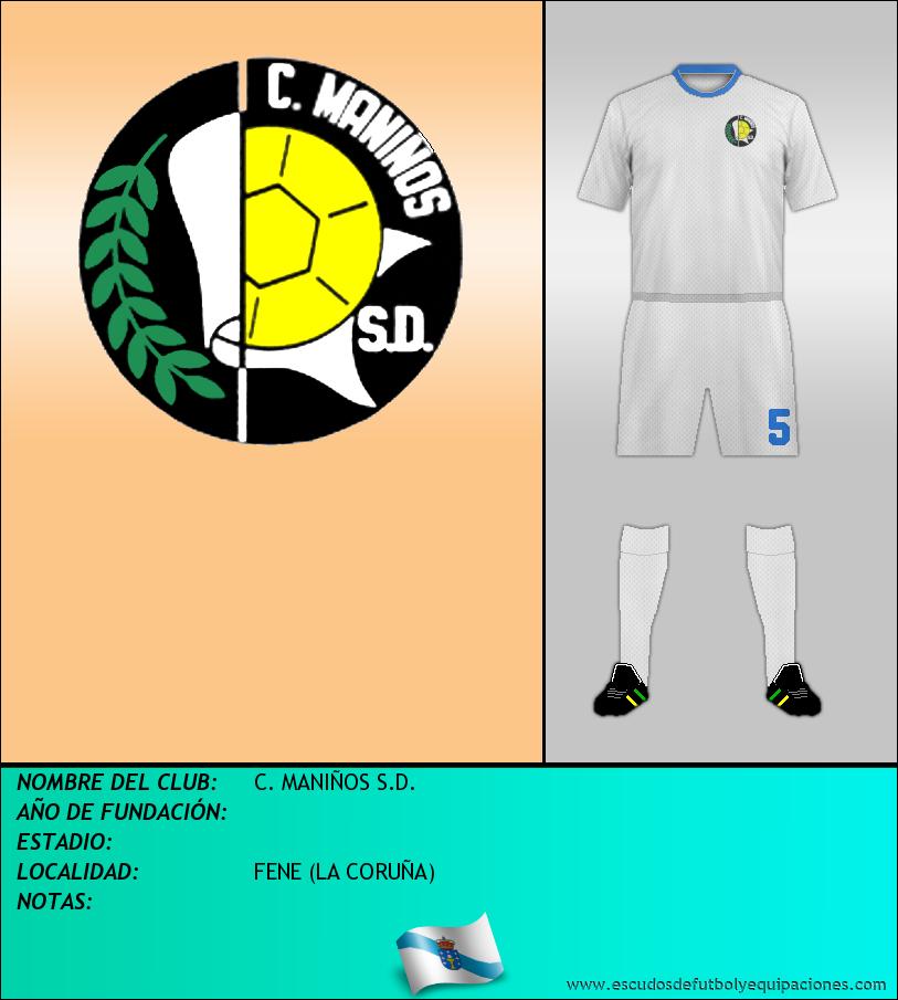 Escudo de C. MANIÑOS S.D.