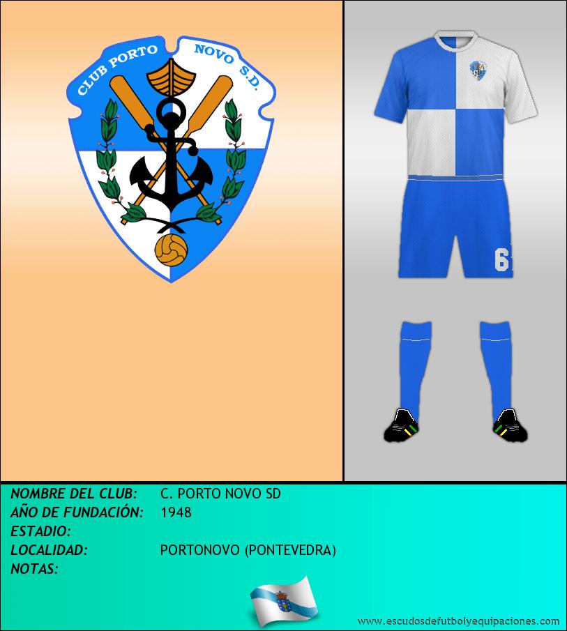 Escudo de C. PORTO NOVO SD