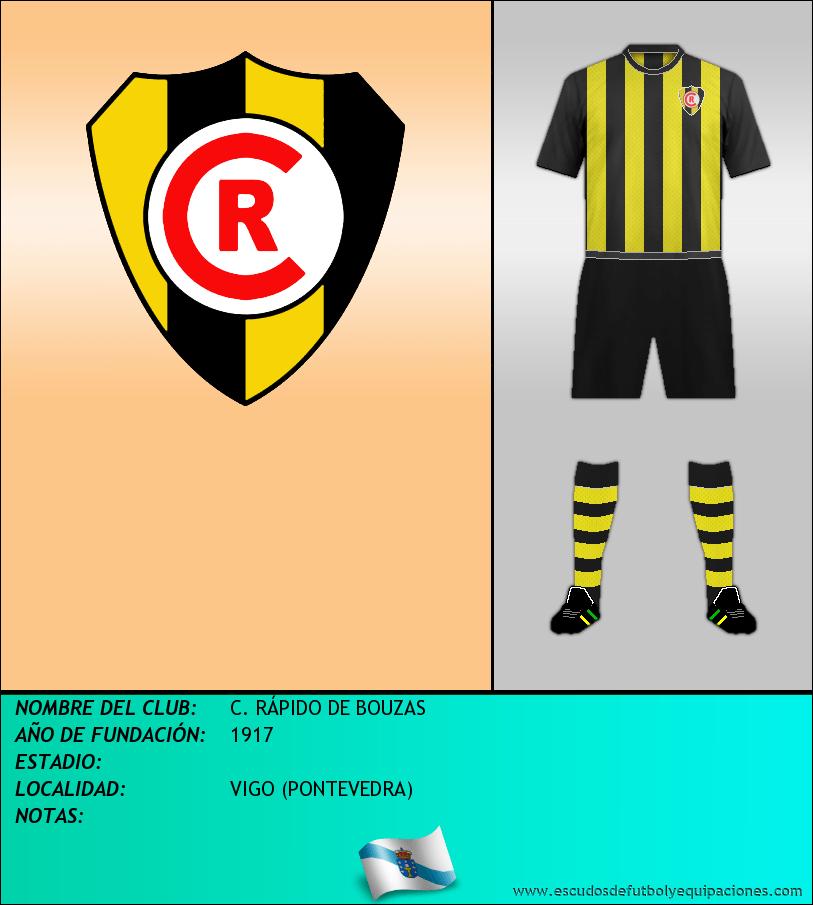 Escudo de C. RÁPIDO DE BOUZAS