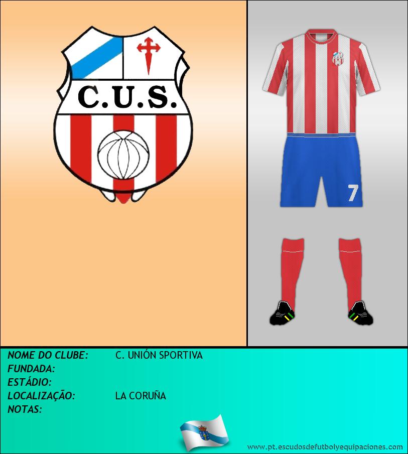 Escudo de C. UNIÓN SPORTIVA