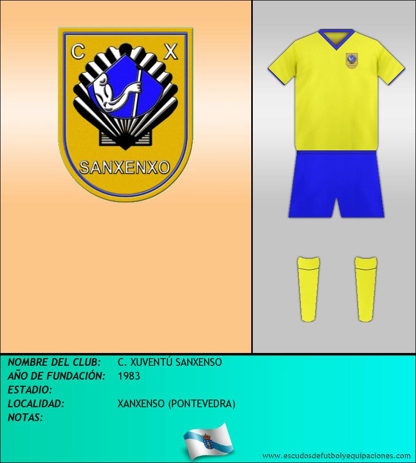 Escudo de C. XUVENTÚ SANXENSO