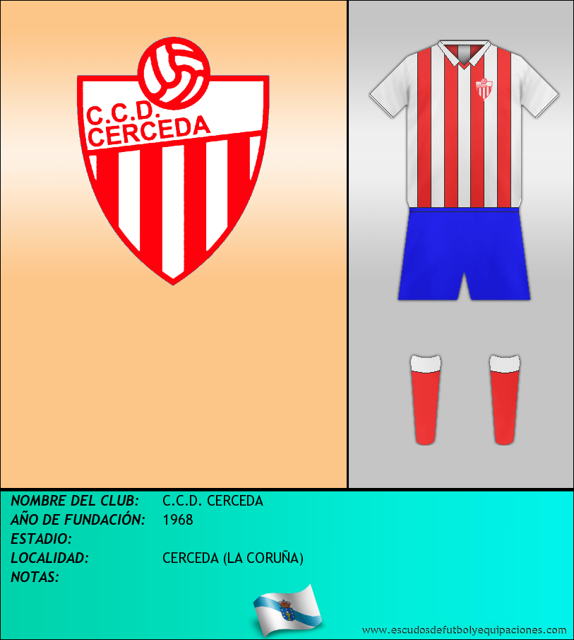 Escudo de C.C.D. CERCEDA