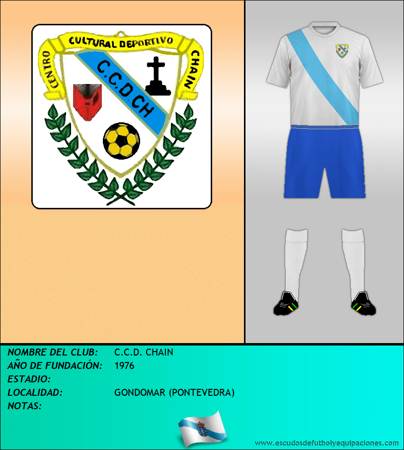 Escudo de C.C.D. CHAIN