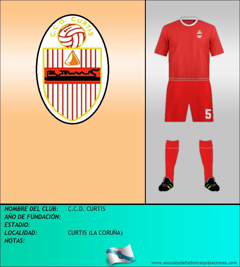 Escudo de C.C.D. CURTIS