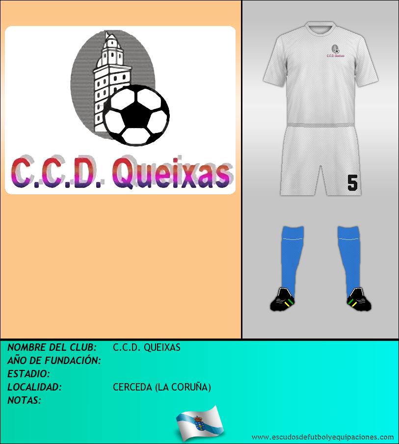 Escudo de C.C.D. QUEIXAS
