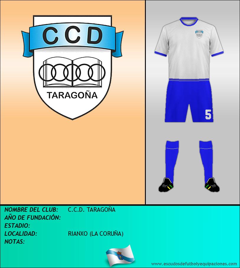 Escudo de C.C.D. TARAGOÑA