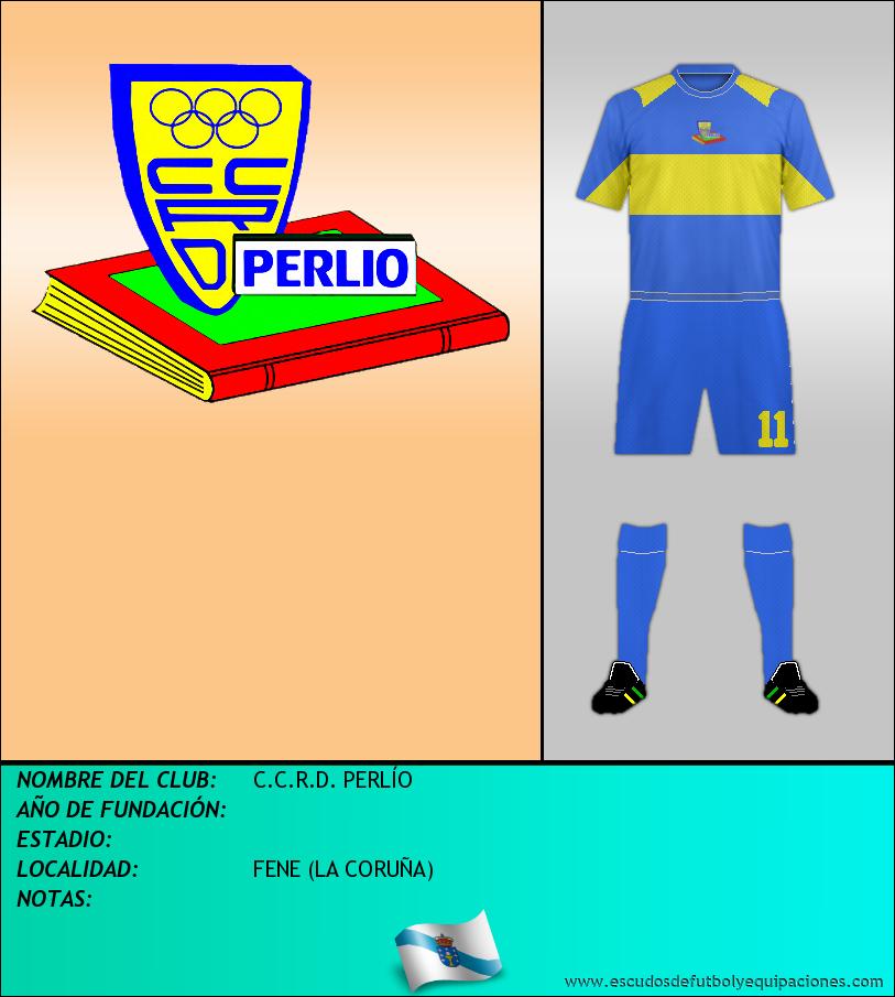 Escudo de C.C.R.D. PERLÍO
