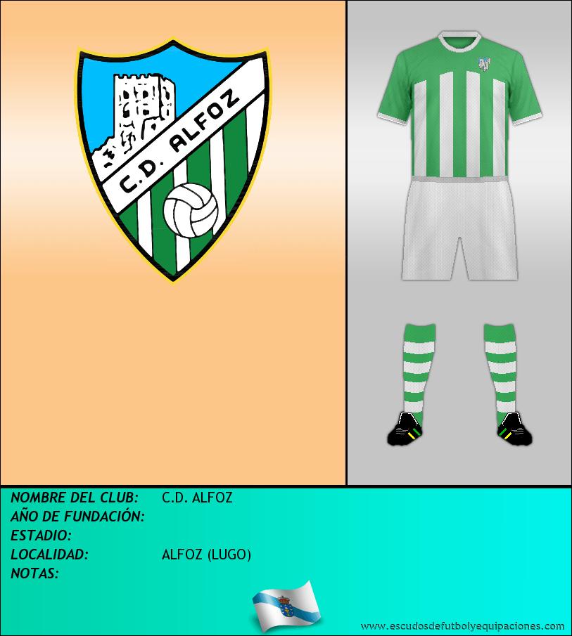 Escudo de C.D. ALFOZ