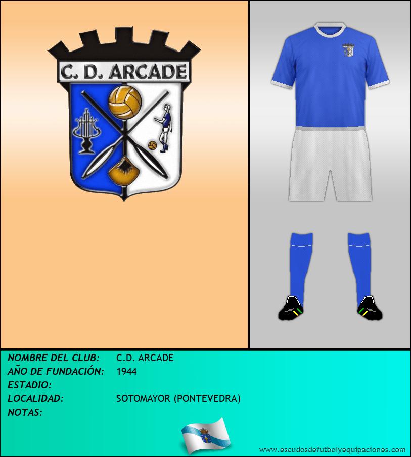 Escudo de C.D. ARCADE
