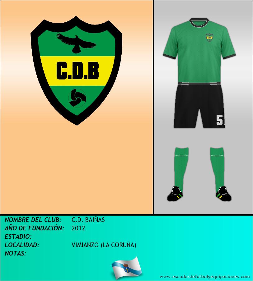 Escudo de C.D. BAIÑAS