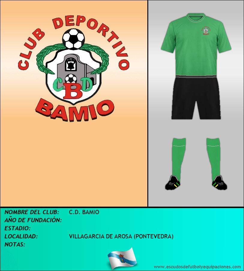 Escudo de C.D. BAMIO
