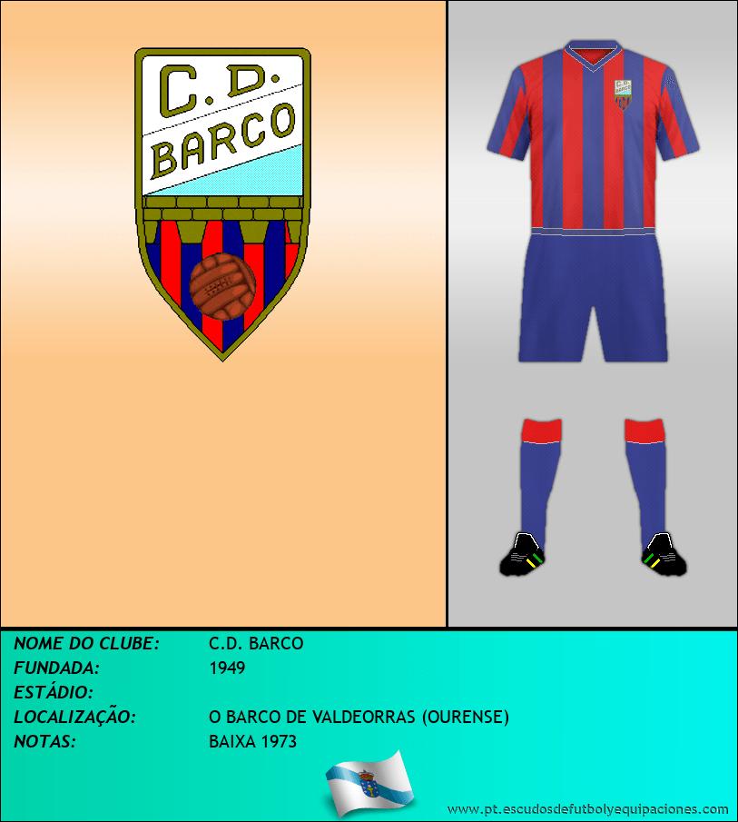 Escudo de C.D. BARCO