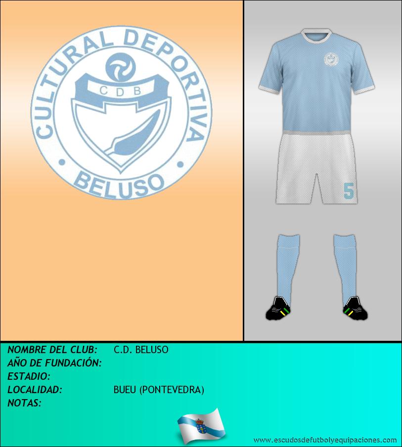 Escudo de C.D. BELUSO
