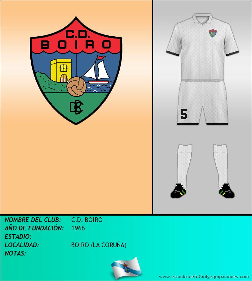 Escudo de C.D. BOIRO