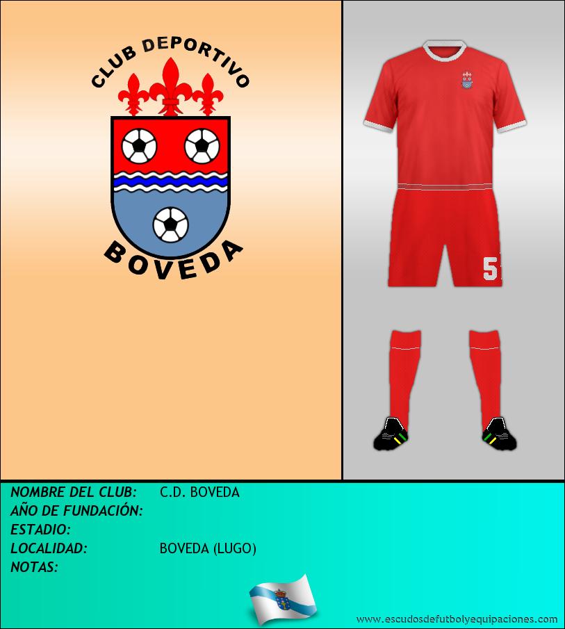 Escudo de C.D. BOVEDA