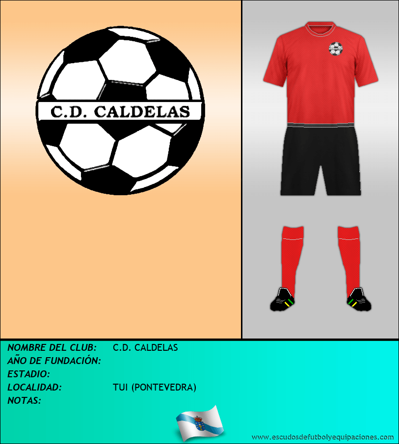 Escudo de C.D. CALDELAS
