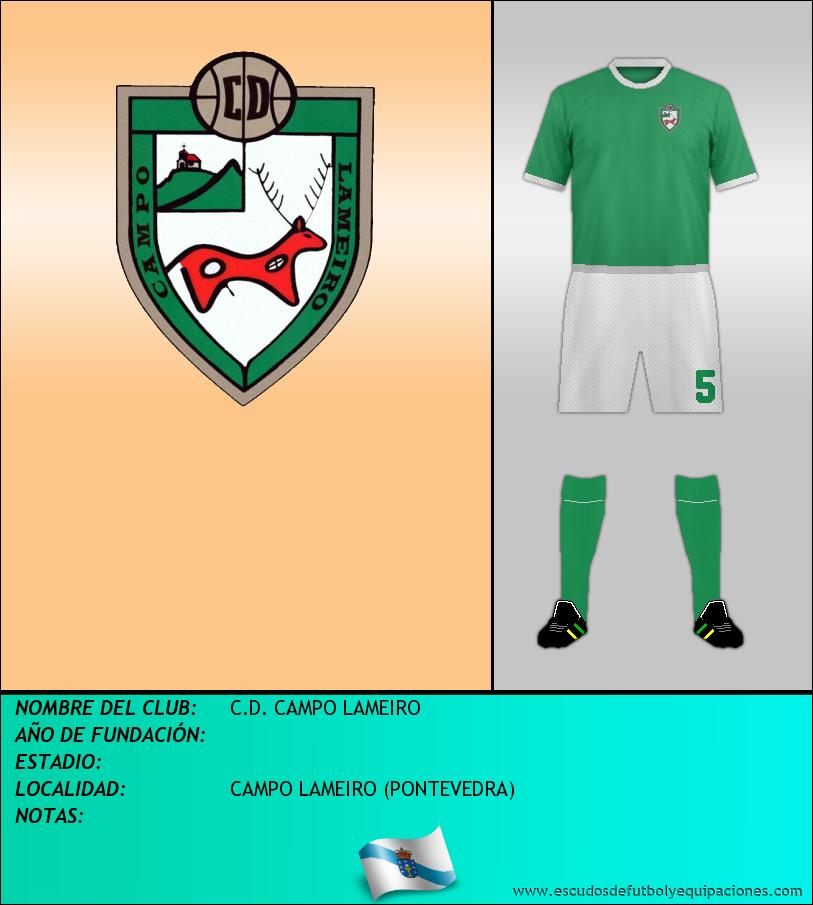 Escudo de C.D. CAMPO LAMEIRO