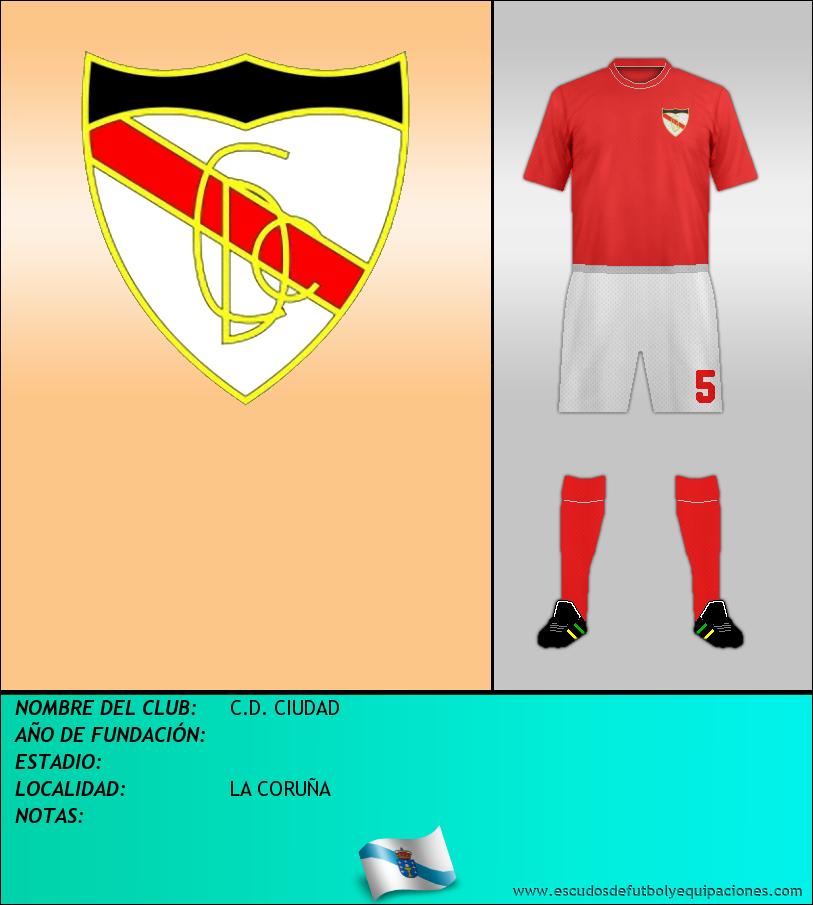 Escudo de C.D. CIUDAD