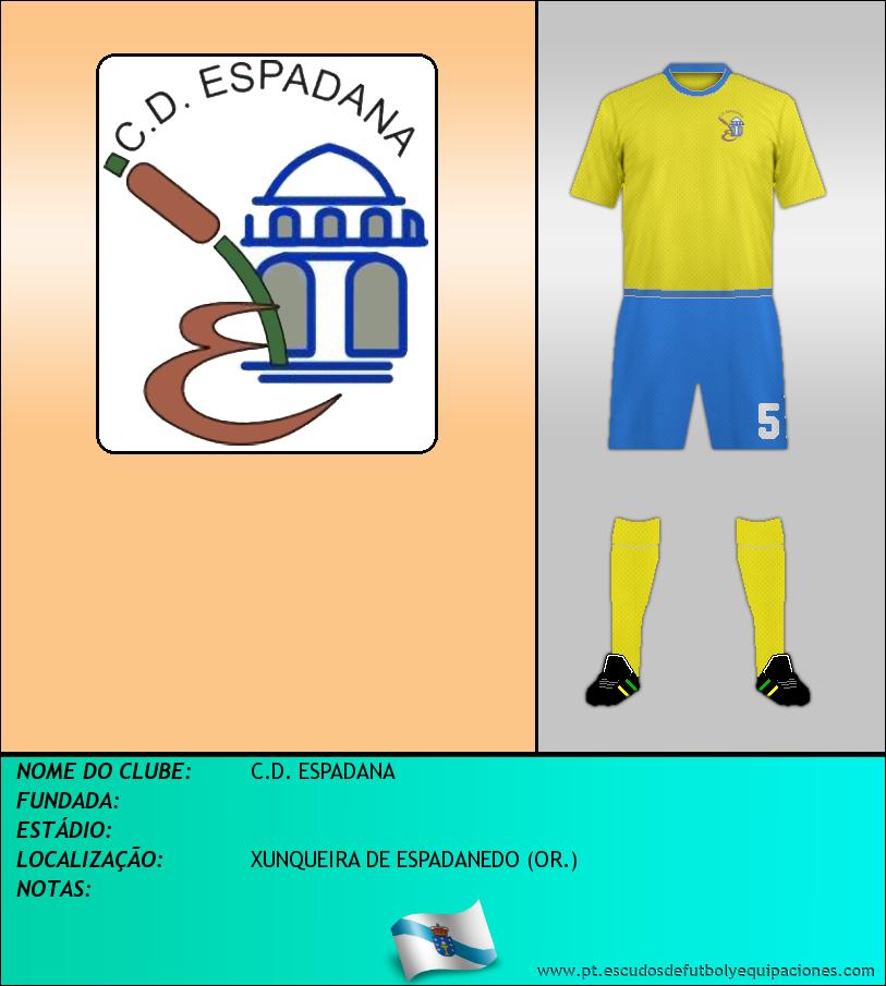 Escudo de C.D. ESPADANA