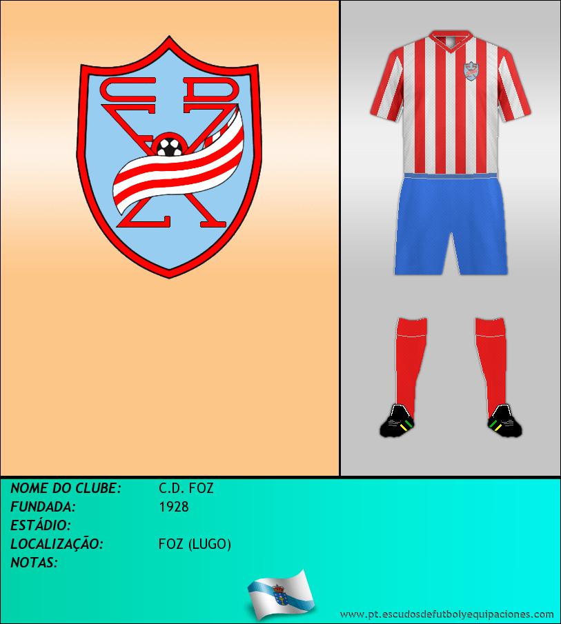 Escudo de C.D. FOZ