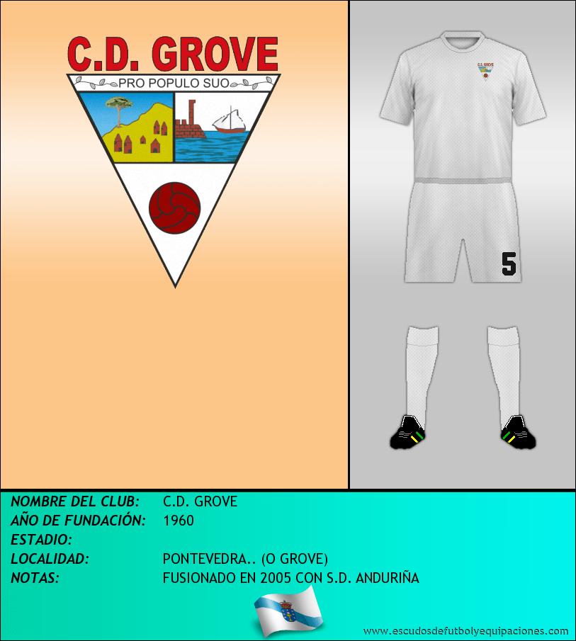 Escudo de C.D. GROVE