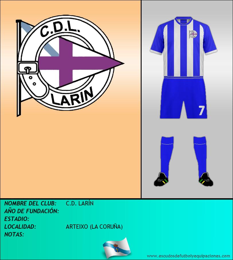 Escudo de C.D. LARÍN