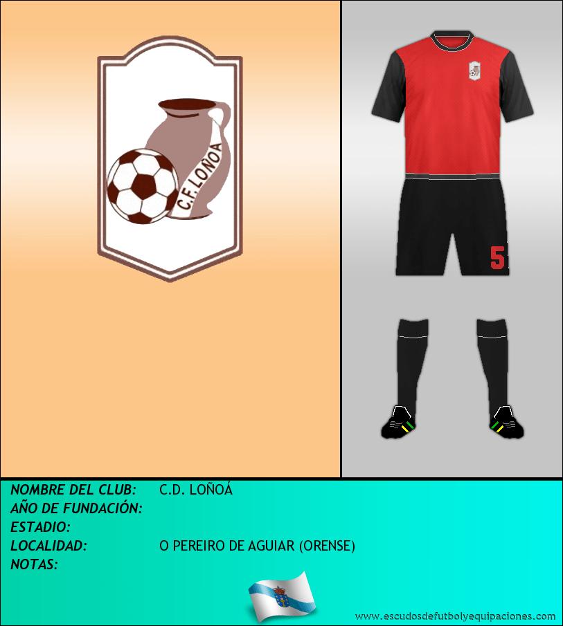 Escudo de C.D. LOÑOÁ