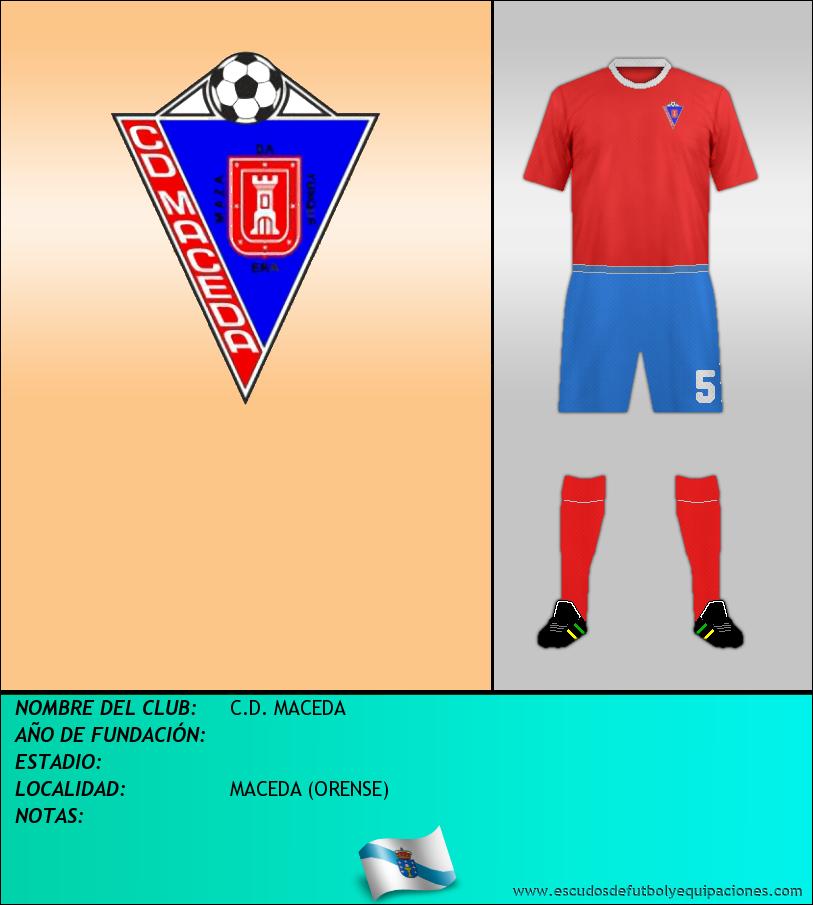 Escudo de C.D. MACEDA