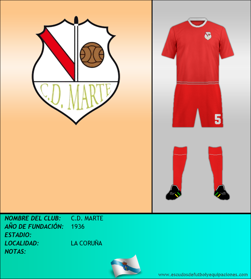 Escudo de C.D. MARTE