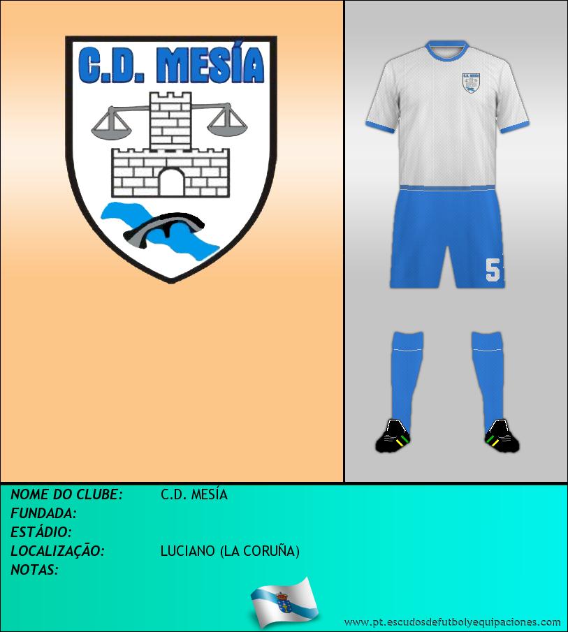 Escudo de C.D. MESÍA