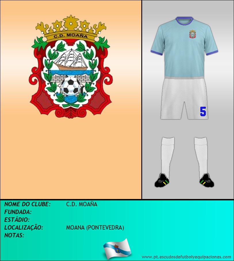 Escudo de C.D. MOAÑA