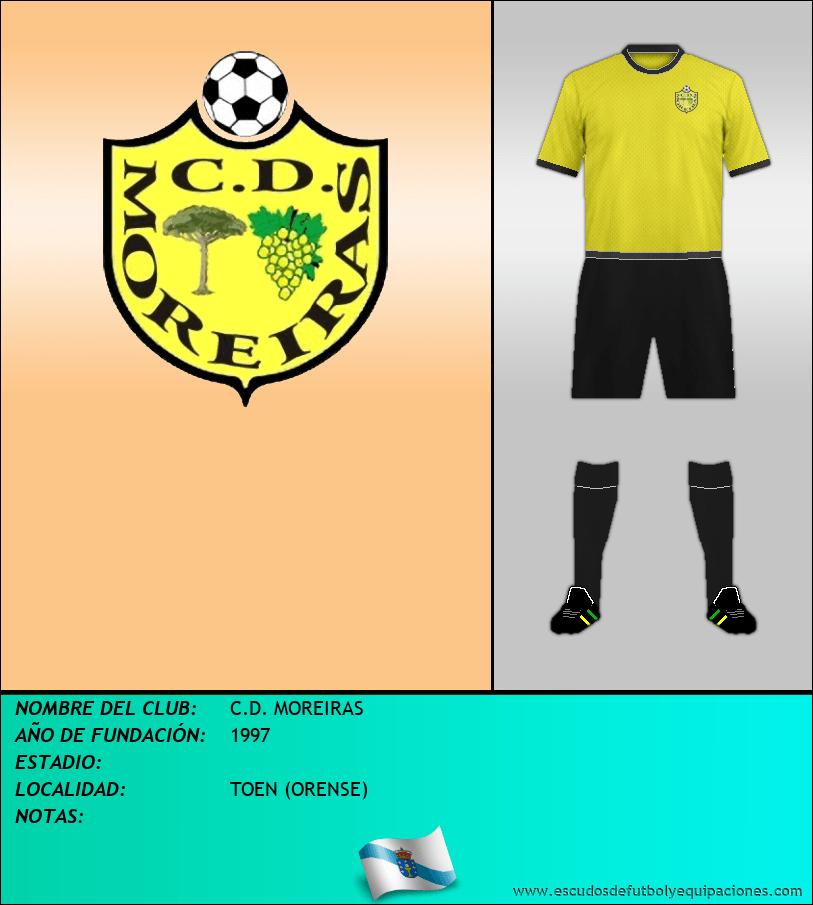 Escudo de C.D. MOREIRAS