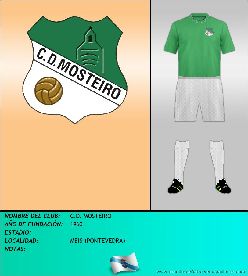 Escudo de C.D. MOSTEIRO