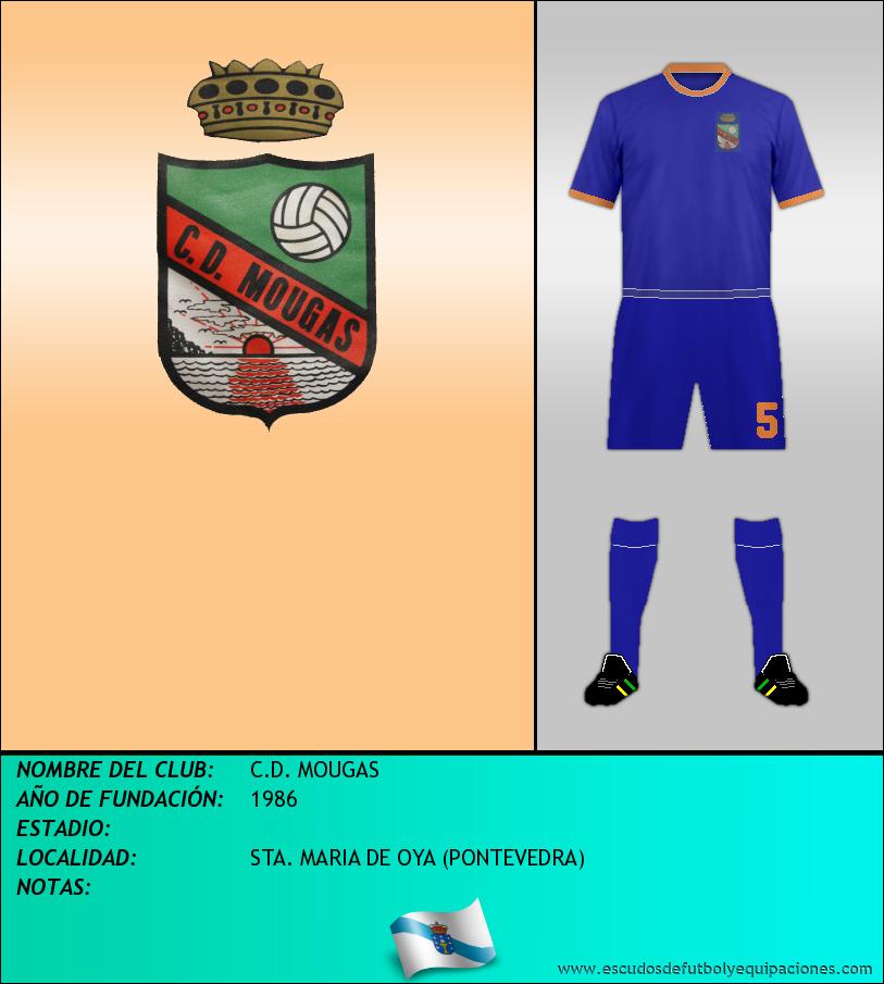 Escudo de C.D. MOUGAS