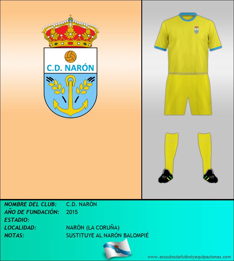 Escudo de C.D. NARÓN