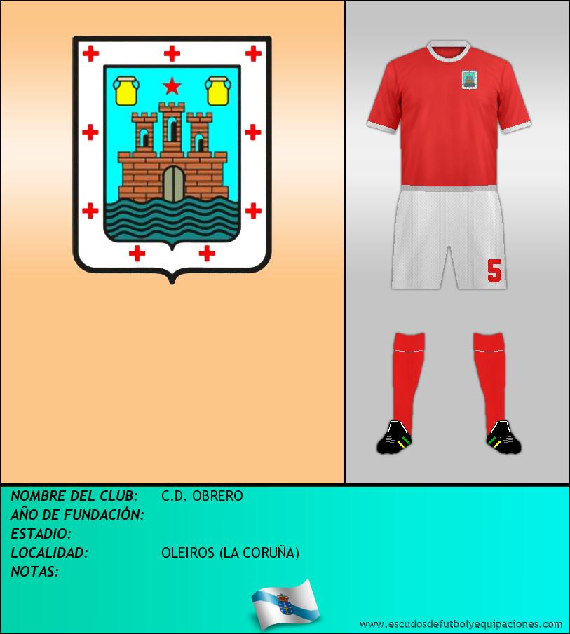 Escudo de C.D. OBRERO