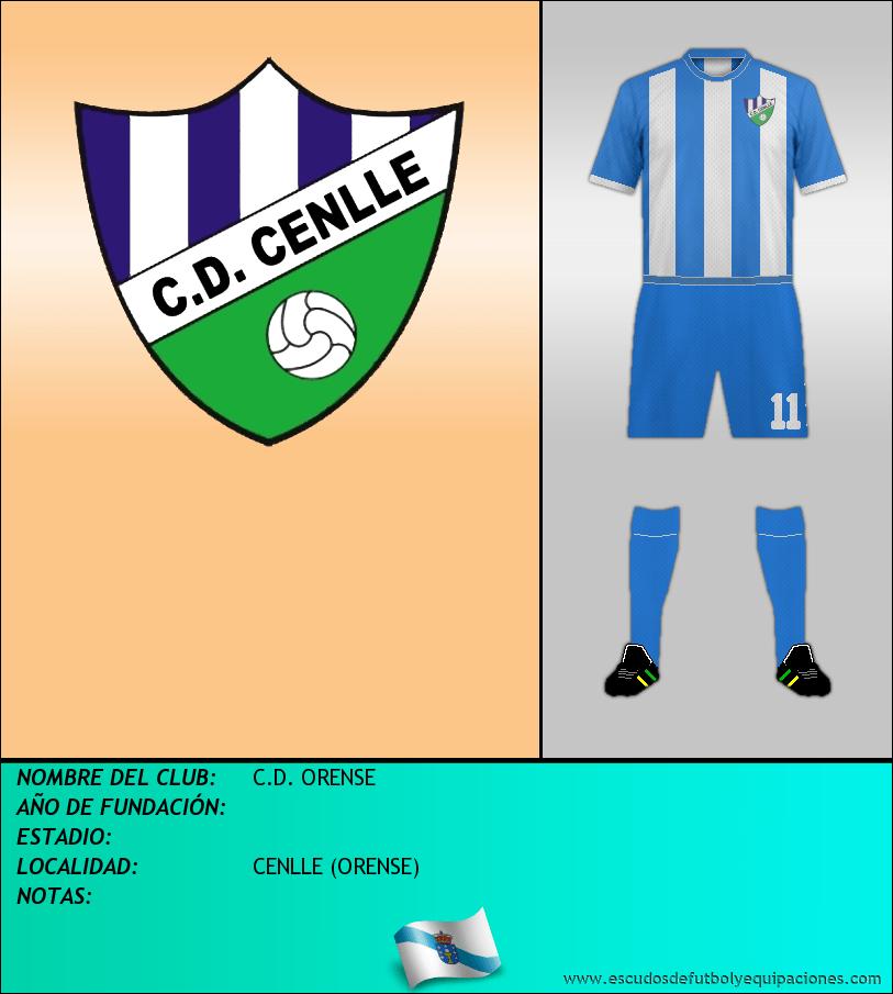 Escudo de C.D. ORENSE