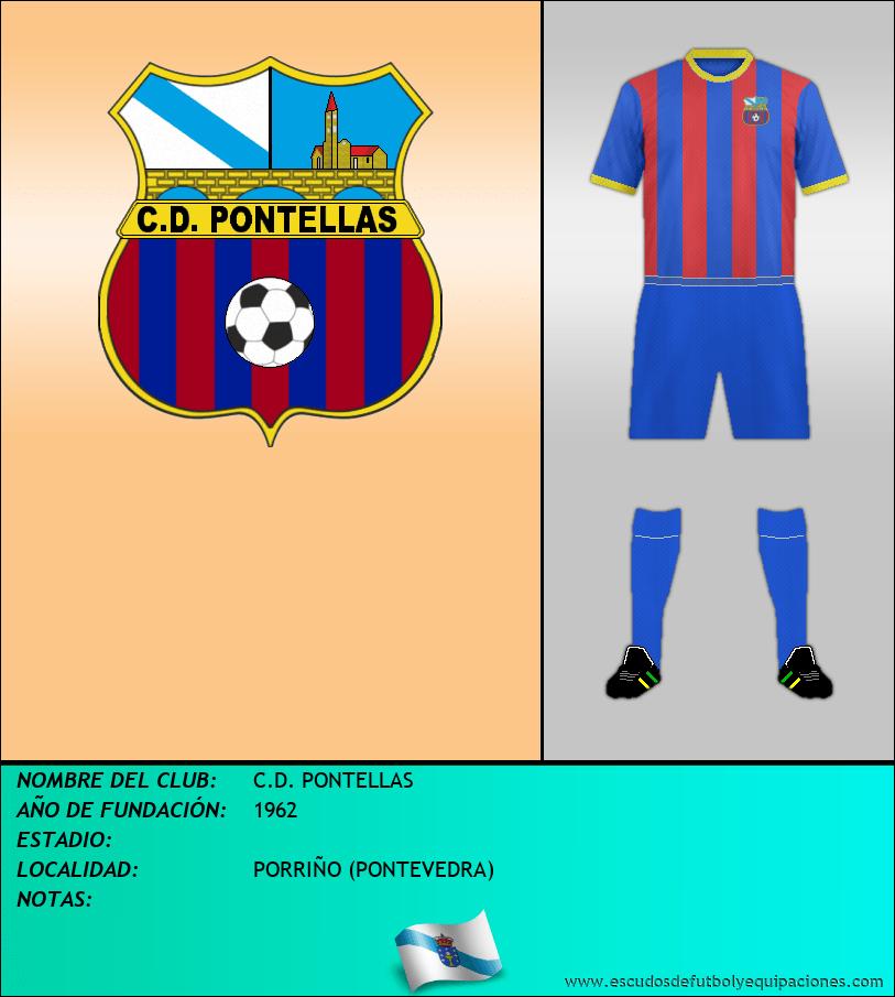 Escudo de C.D. PONTELLAS