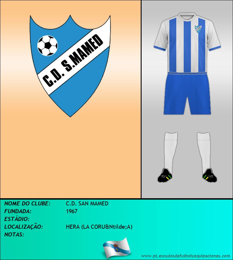 Escudo de C.D. SAN MAMED