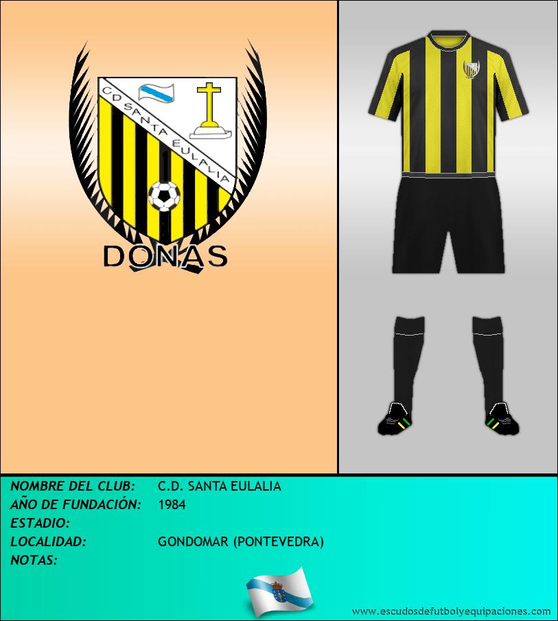 Escudo de C.D. SANTA EULALIA