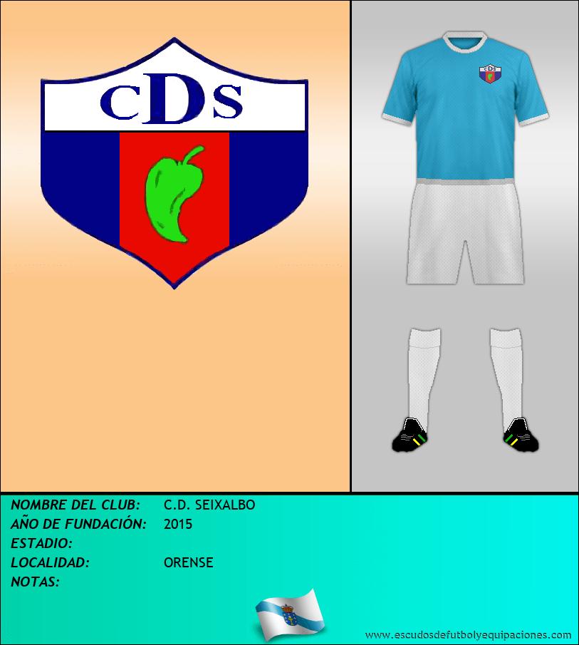 Escudo de C.D. SEIXALBO