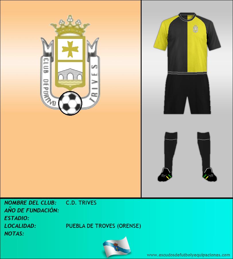 Escudo de C.D. TRIVES