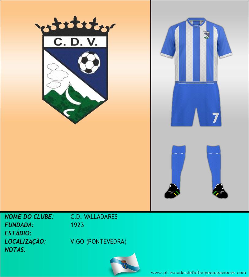 Escudo de C.D. VALLADARES