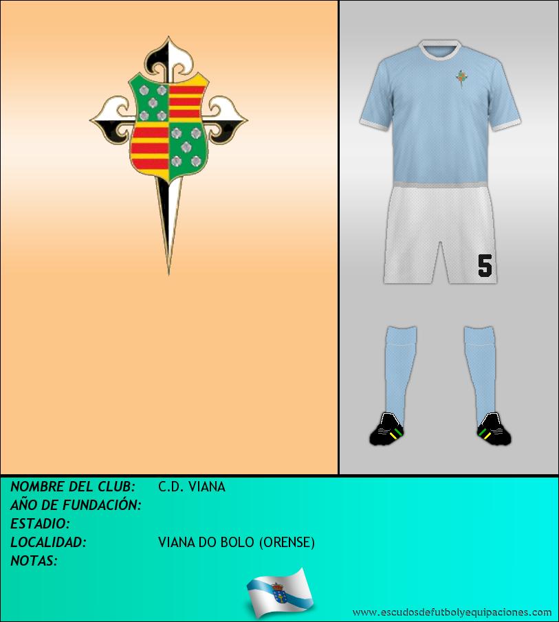 Escudo de C.D. VIANA