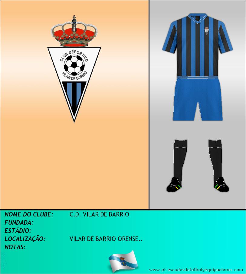 Escudo de C.D. VILAR DE BARRIO