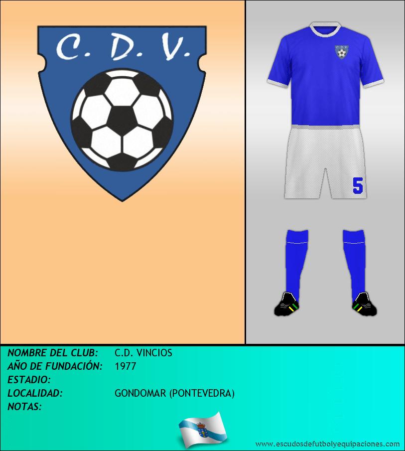Escudo de C.D. VINCIOS