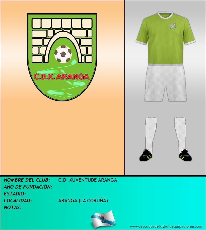 Escudo de C.D. XUVENTUDE ARANGA