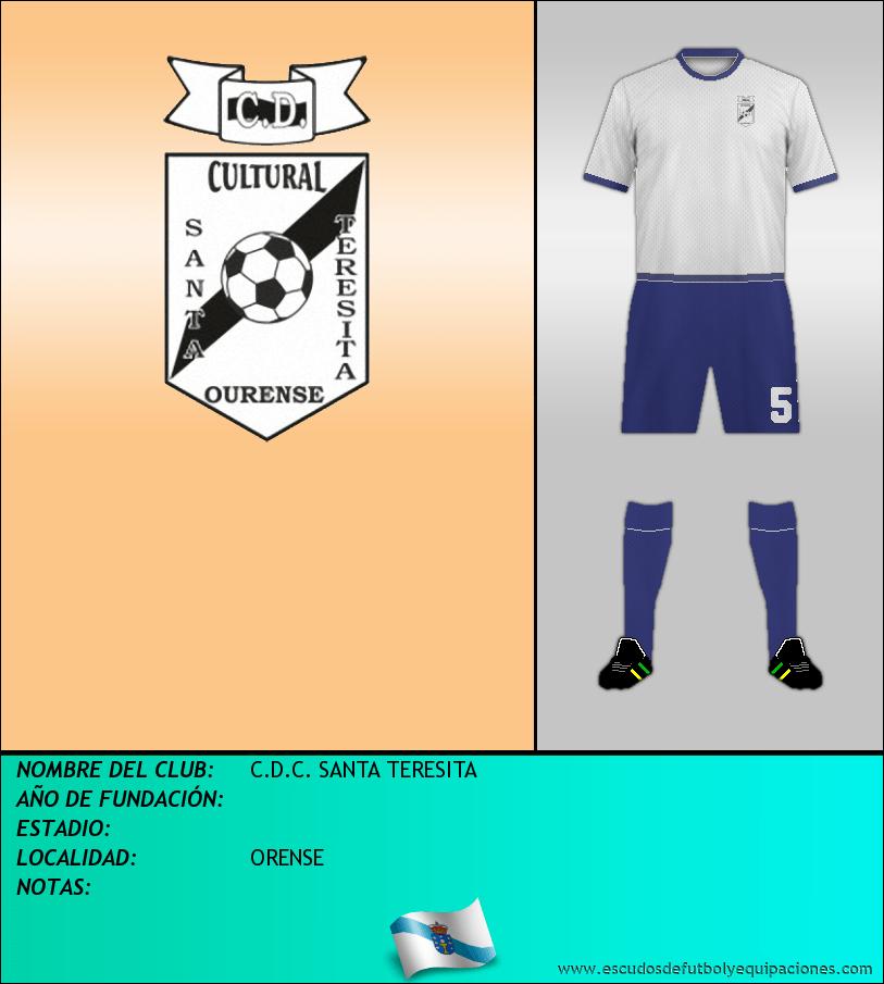 Escudo de C.D.C. SANTA TERESITA
