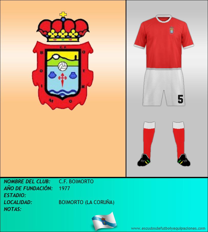 Escudo de C.F. BOIMORTO